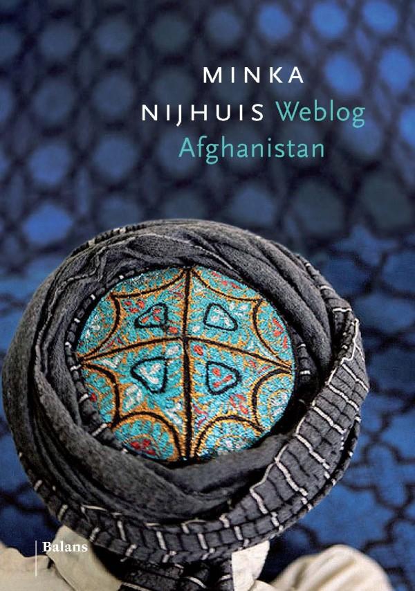 Boekomslag weblog Afghanistan Minka Nijhuis